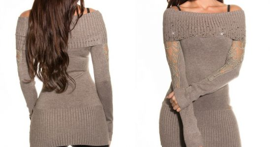 pull col large femme