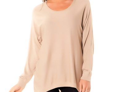 pull femme large