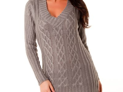 pull robe laine