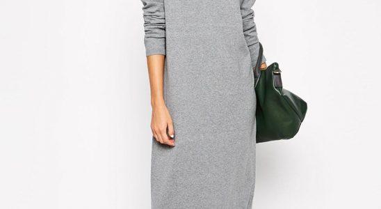 pull robe longue