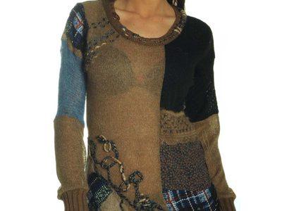 pull tunique femme original