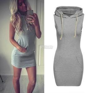 robe a capuche femme