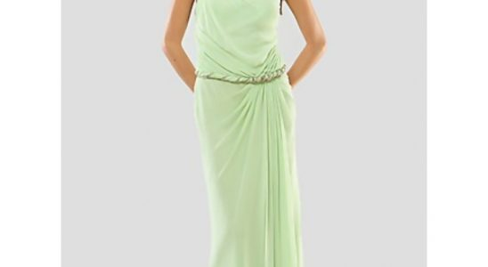 robe asymétrique longue