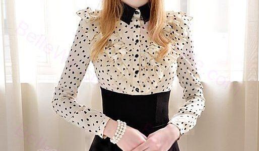 robe avec col chemise
