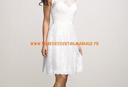 robe blanche dentelle pas cher
