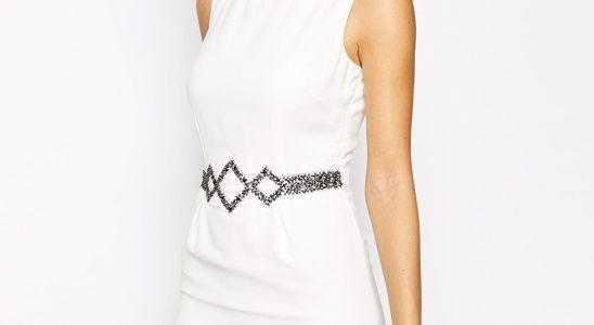 robe blanche femme