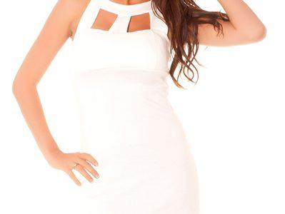 robe blanche femme pas cher