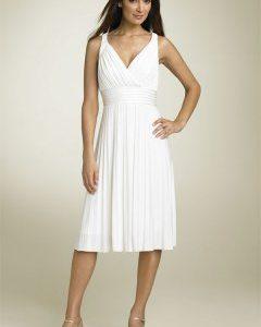 robe blanche pas cher