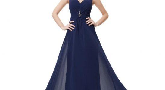 robe bleu nuit pas cher