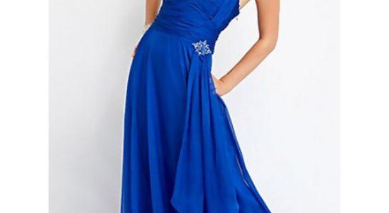robe bleu pas cher