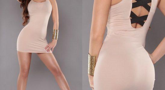 robe courte moulante