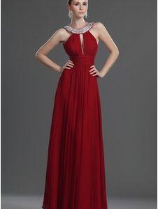robe de soirée bordeaux pas cher