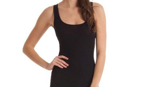 robe debardeur noire