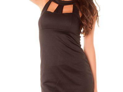 robe femme noir