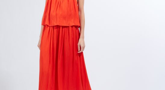 robe fluide longue