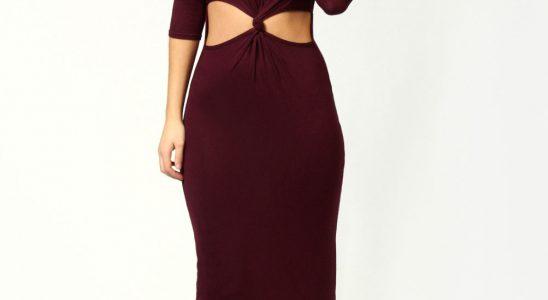 robe longue classe pas cher
