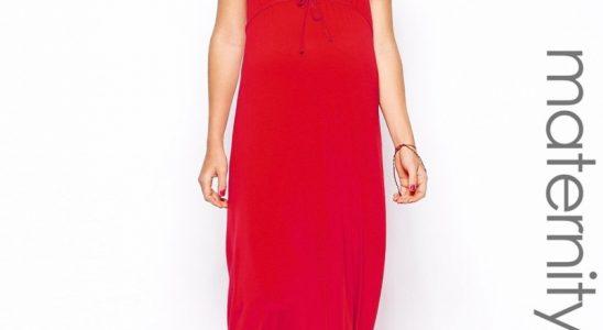 robe longue droite