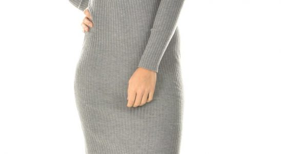 robe longue pull