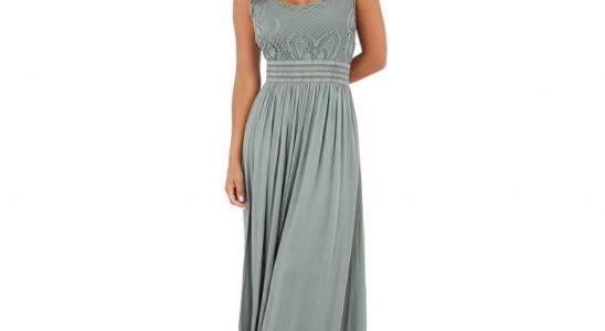 robe longue unie