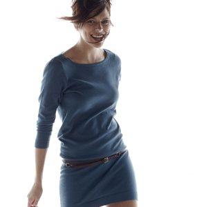 robe maille femme