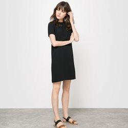 robe noir droite