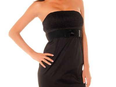 robe noir pas chere