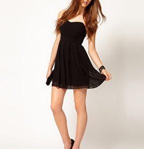 robe noire ado