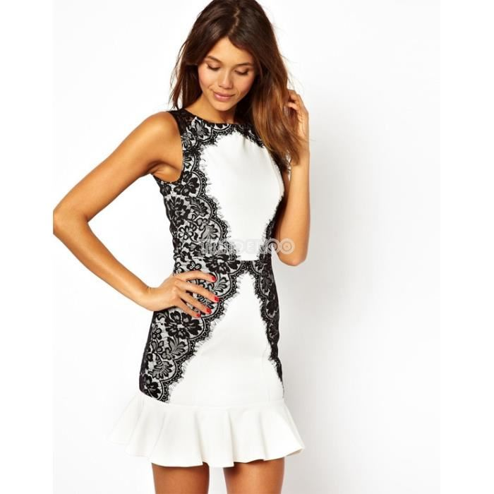 robes noires et blanches