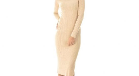 robe pull longue pas cher