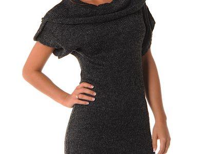 robe pull manche courte