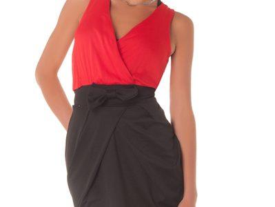 robe rouge et noire