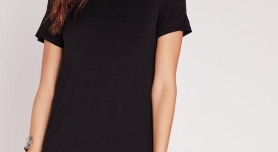 robe t shirt noire