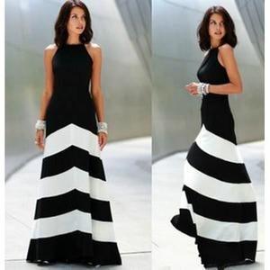 tenue noir et blanc