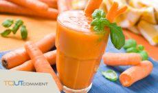Comment faire jus de carotte